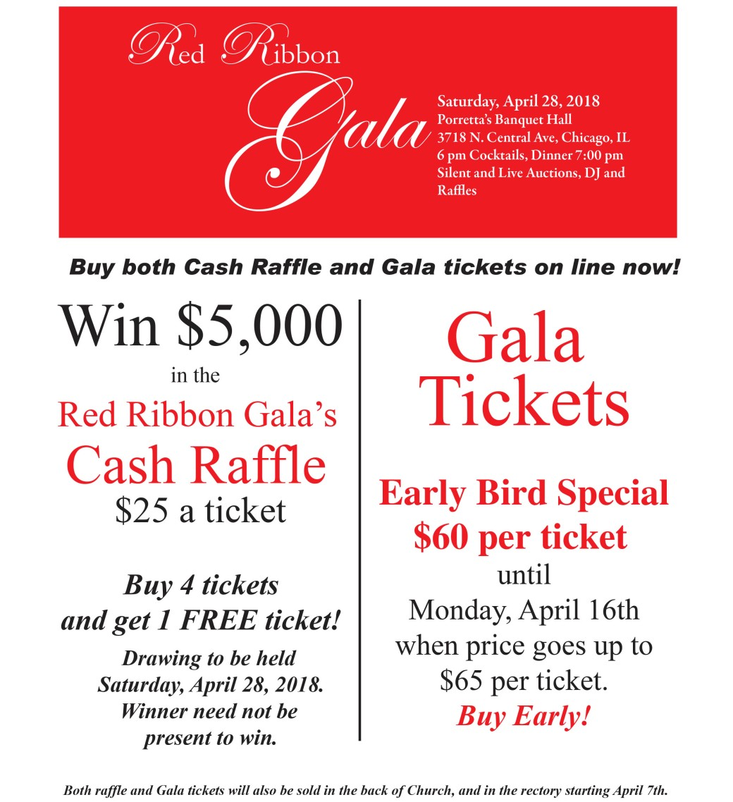 Cash Raffle and Tix Bull Ad