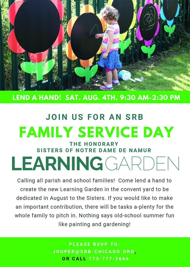 SRB FAMILY SERVICE DAY